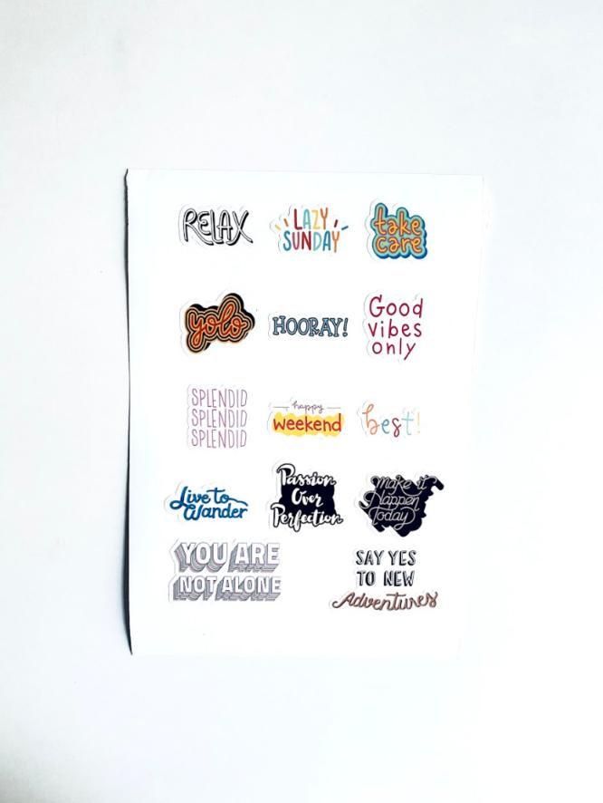 The good vibes Sticker