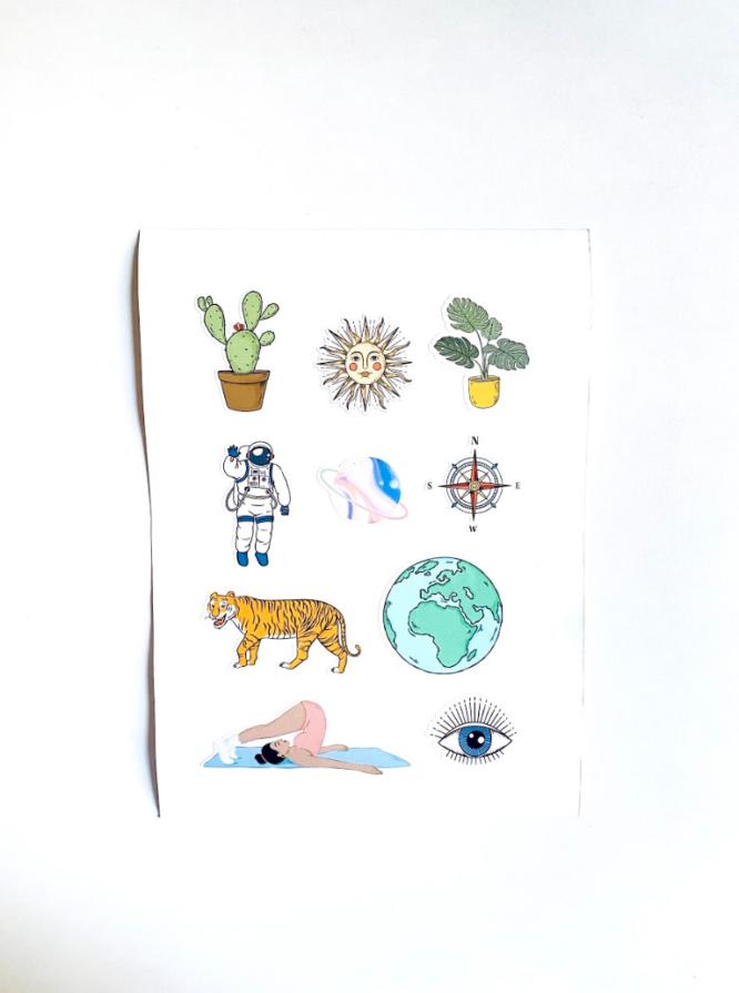 The Adventurous Sticker